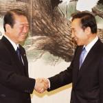 「外国人参政権、努力します」と小沢一郎